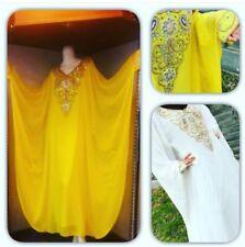 NEW Dubai Arabic Kaftan Farasha Abaya Evening/Wedding Butterfly Dress