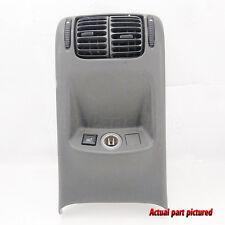 01-06 Saab 9-5 Rear Center Console Air Vent A/C Heater Power Socket OEM 02 03 04