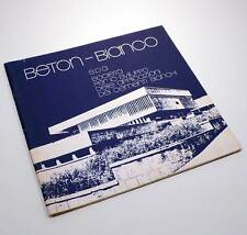 BETON BIANCO SPA STAMPA PROPAGANDISTICA CEMENTI BIANCHI N.6 1977 L0109S3
