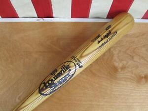 """Vintage Louisville Slugger Wood 125 Baseball Bat Ivan DeJesus Model 35"""" Game Bat"""
