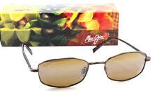 Maui Jim PANIOLO H712-18 Copper Metal Sunglass Polarized HCL Bronze Lens 100% UV