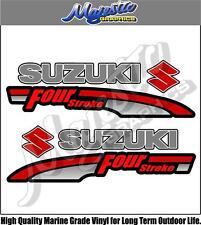 SUZUKI - 4 STROKE - OUTBOARD DECALS