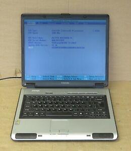 """Toshiba Satellite Pro L100 15"""" Celeron M360 1.4Ghz 2GB 40GB XP Pro COA Laptop"""