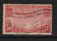 1937 Airmail Sc C22 used single CV $5