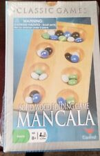 Mancala Solid Wood Folding Game By Cardinal