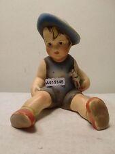 +# A015145_01 Goebel Archiv Muster Cortendorf Junge mit Pferd Spielzeug in Arm