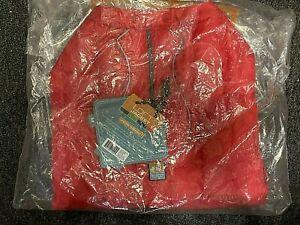 New Kurgo Loft Jacket for Dogs Medium RED NWT Reflective Trim