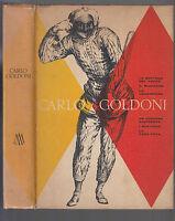 CARLO GOLDONI COMMEDIE MONDADORI EDITORE 1959-L3357