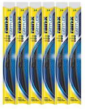 "Rain-X Latitude 8 In 1 24"" Windshield Wiper Blade Pack of 6"