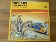 LP NS RAILROADRECORDS TOPPERS ON TRAIN TOUR RAILROAD SONGS TREIN 1986 CASH,BYRDS