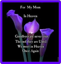 For My Mom In Heaven Refrigerator Magnet