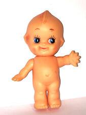 """Kewpie 4"""" Baby Doll Angel Wings Vintage Vinyl Collectible Cupie Rose O'Neill"""