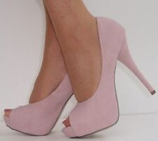 Stiletto Peep Toes Textile Shoes for Women