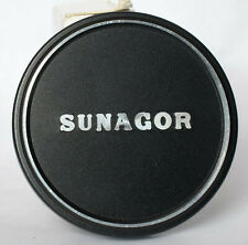 Sunagor 60mm metal lens cap to fit lens with 58mm filter thread.