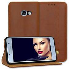 Custodia ecopelle prestige per Samsung Galaxy A5 2017 (A520 / 5.2'') - marrone