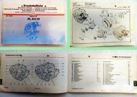 Deutz FL 511/W Motor Ersatzteilliste Spare Parts Catalogue 1984