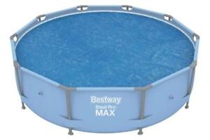 Bestway 10ft Steel Pro and Fast Set Solar Swimming Pool Cover BW58241