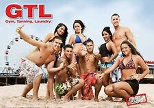 JERSEY SHORE Poster - Cast Beach Bikini Full 24x36 ~ Snooki Jwoww The Situation