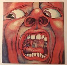 Greg Lake Signed King Crimson An Observation LP Vinyl JSA # R00489 Auto