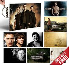 Sobrenatural A4 Poster opciones Regalos Para Legend Serie De Tv, ventiladores de casa de decoración de pared