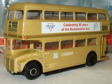 EFE 15632A - 1/76 AEC Routemaster 50th, Gold RM6 Arriva, 50th Annviersary Arriva
