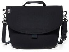 Built NY Messenger Black Neoprene Bike Lunch Bag