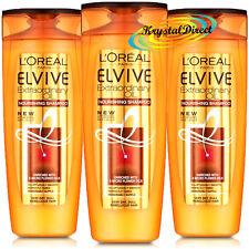 3x LOREAL ELVIVE OLIO STRAORDINARIO Nutriente Shampoo 400 ML-molto secca noioso dei capelli