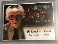 Harry Potter POAU Auto Redemption Card
