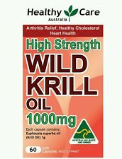 Healthy Care Wild Krill Oil 1000mg 60 Capsules - OzHealthExperts