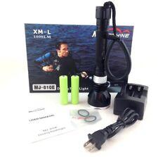 USED!! MagicShine MJ-810E 4 mode 1000 Lumen LED Scuba Diving Flashlight g1