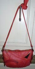 Designer MARC JACOBS Rose Leather Shoulder Bag Handbag Purse