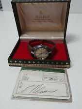 Vintage Rado Diastar 8/1 Water-Sealed Watch Swiss Made Box Papers Full Set