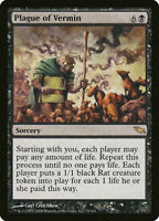 Magic the Gathering MTG 1x Plague of Vermin x1 LP/NM- Shadowmoor 9x Available