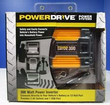 Brand New Powerdrive DC to AC Power Inverter with USB Port & 2 Outlets Free Ship