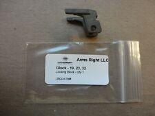 Glock 19 23 32 Locking Block 3-Pin - New Factory OEM Action Parts 7894