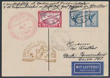 Zeppelin 3.SAF 1932 1 RM Polarfahrt-Zeppelin Anschlussflug Berlin (S15434)