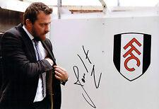 Slavisa JOKANOVIC Signed Autograph Football Fulham Manager Photo 3 AFTAL COA