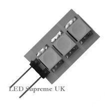 G4 3 LED SMD 12V AC/DC 0.6W Blue Bulb