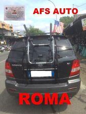 PORTABICI POSTERIORE 3 BICI KIA SORENTO 2002-2009 X 3 BICI UOMO DONNA AFS ROMA