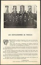 33 BORDEAUX LES VINS LES GENTILSHOMMES DE FRONSAC 1979