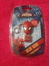 Sakar The Amazing Spider Man  8GB  USB Flash Drive Mac/PC ~ Key Chain