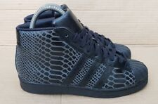 ADIDAS SUPERSTAR PRO MODEL SNAKE PACK BLACK SIZE 5 UK IMMACULATE CONDITION