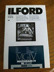 Ilford Multigrade IV RC Deluxe pearl unopened
