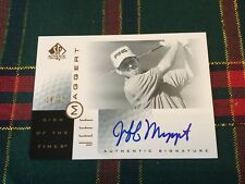 JEFF MAGGERT 2001 SP GOLF SOTT SIGN OF THE TIMES GOLD/25