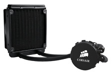 Corsair CPU Liquid Cooling Kit H55 Hydro Series All in One PC Water Cooler Fan