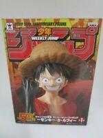 Banpresto Jump 50th Anniversary Figure One Piece Monkey D Luffy Japan F/S