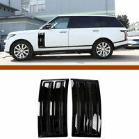 For Land Rover Range Rover Vogue SVO 2014-2018 Black Door Side Air Vent Trim