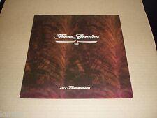 1977 Ford Thunderbird Town Landau sales brochure ORIGINAL dealer literature