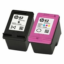 HP 62 Ink Cartridges - Black & Colour - For use with HP Envy 5640 Printers