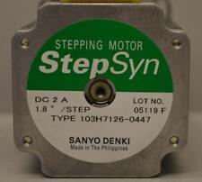 Sanyo Denki Step-Syn Stepping Motor 103H7126-0447 ++ NICE ++